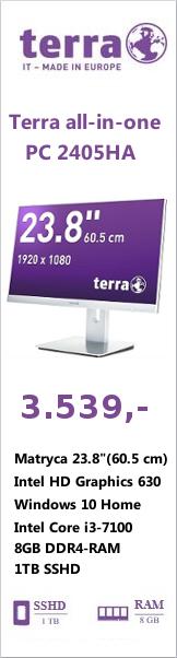 lewa pionowa komputer Terra